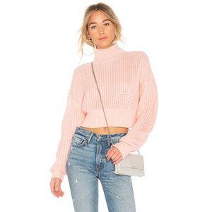 NWOT Cropped Turtleneck Sweater